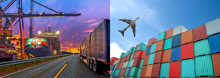 Freight forwarding services, air, ship, truck